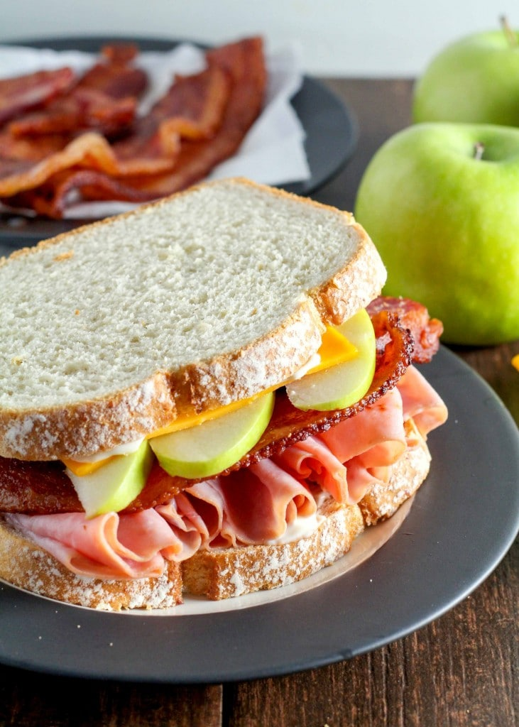 Harvest Apple Bacon Sandwiches