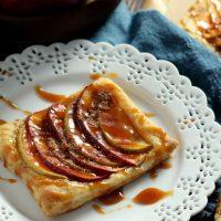 Caramel Apple Puff Pastries
