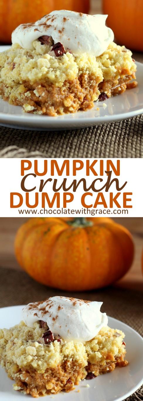 Easy Thanksgiving Dump Cake