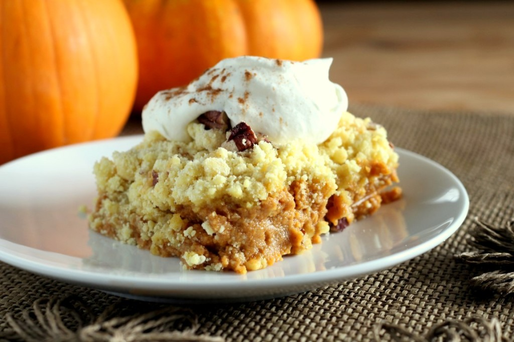 Pumpkin Crunch Dump Cake Chocolate With Grace