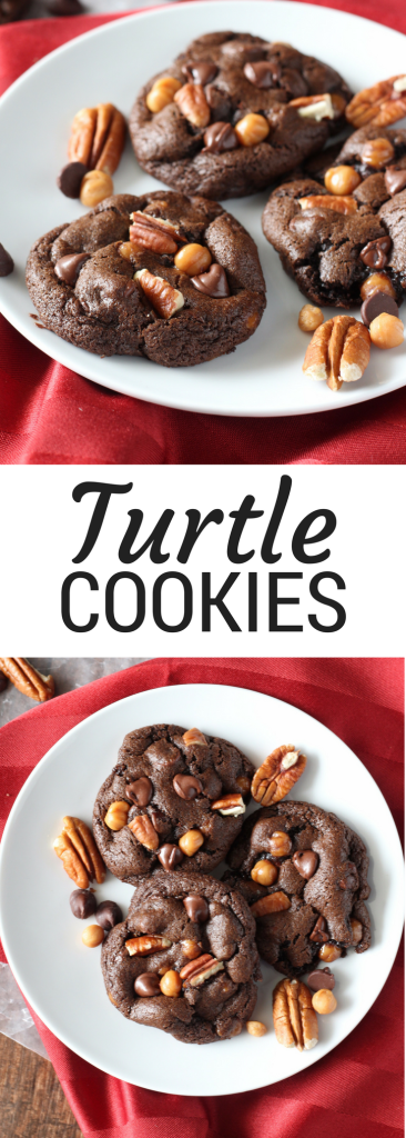 Chocolate Turtle Cookies (1)