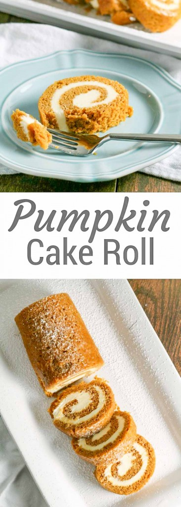The Pumpkin Cake Roll is a Thanksgiving favorite.