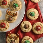 Christmas peanut blossom cookies | Peanut Butter Kiss Cookies for Christmas | Christmas cookie trays and cookie swaps or exchanges
