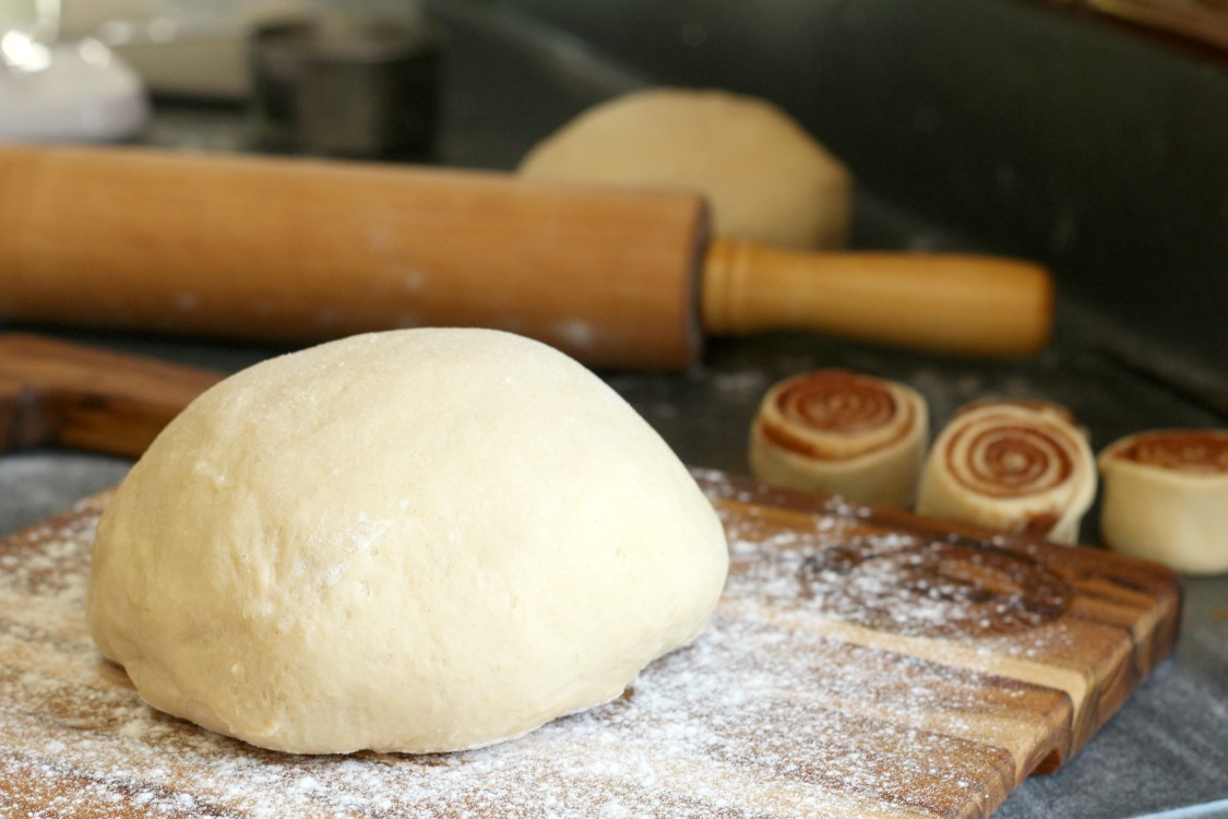A basic sweet yeast dough that can be used for just about any sweet bread your