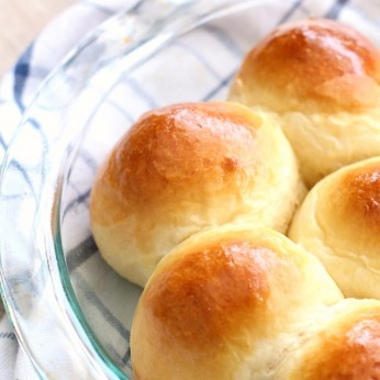 Easy, Buttery Homemade Dinner Rolls can be made ahead and are perfect for Easter, Thanksgiving or Christmas Dinner.