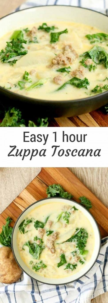 Easy Zuppa Toscana Soup Recipe