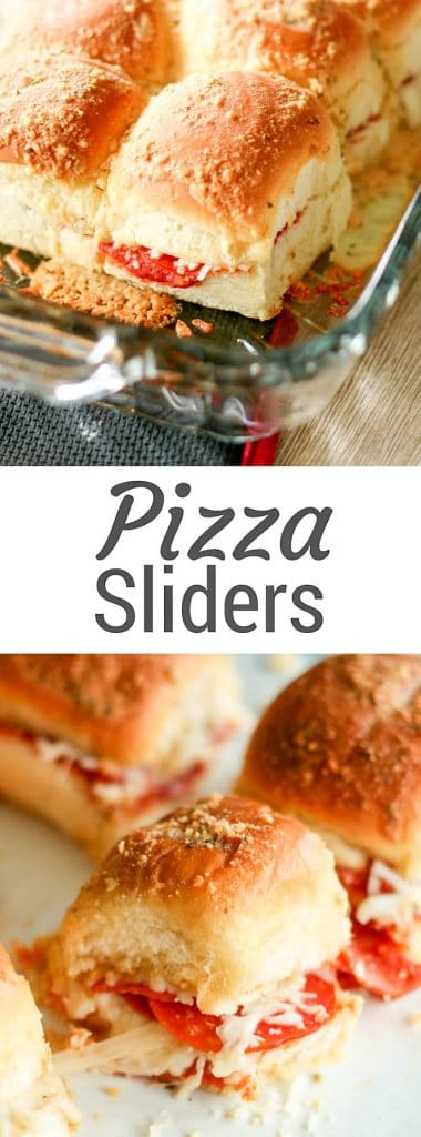Quick and Easy Pizza Sliders