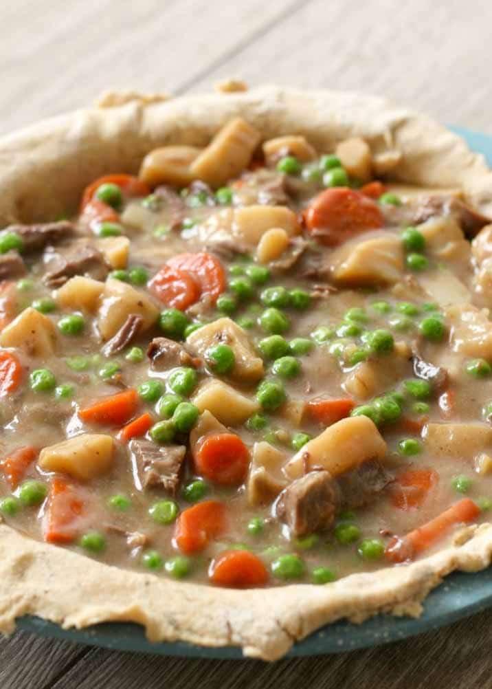 Leftover Beef Pot Pie