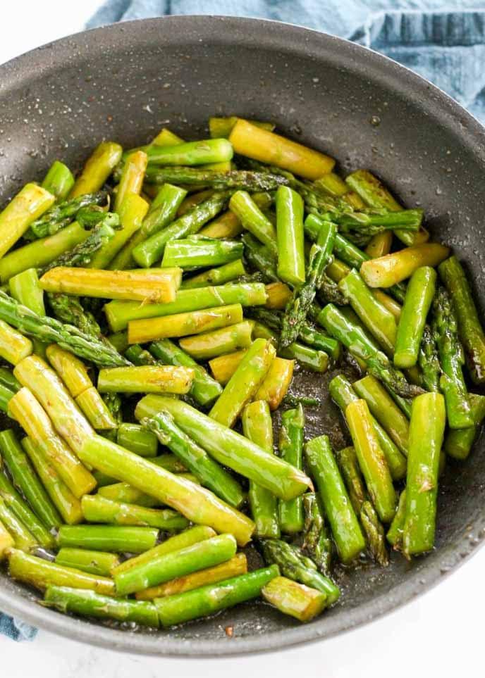 Easy Sautéed Asparagus