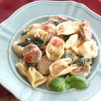Creamy Italian Sausage and Tortellini