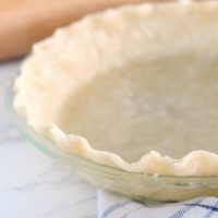 Cheater Oil Pie Crust