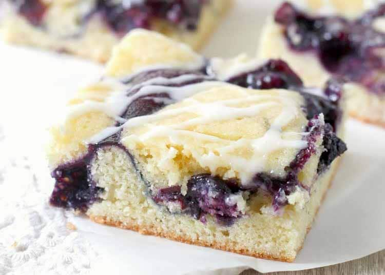 Blueberry Pie Bars are a huge hit with everyone!
