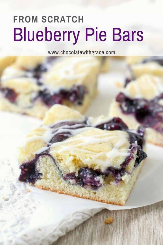 Blueberry Pie Bars are a picnic favorite!