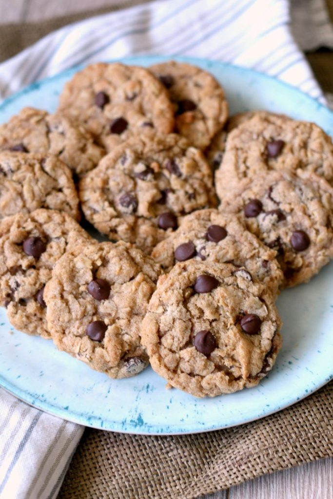 The best browned butter chocolate chip cookies