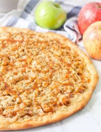 Apple Dessert Pizza - copycat Pizza Hut recipe