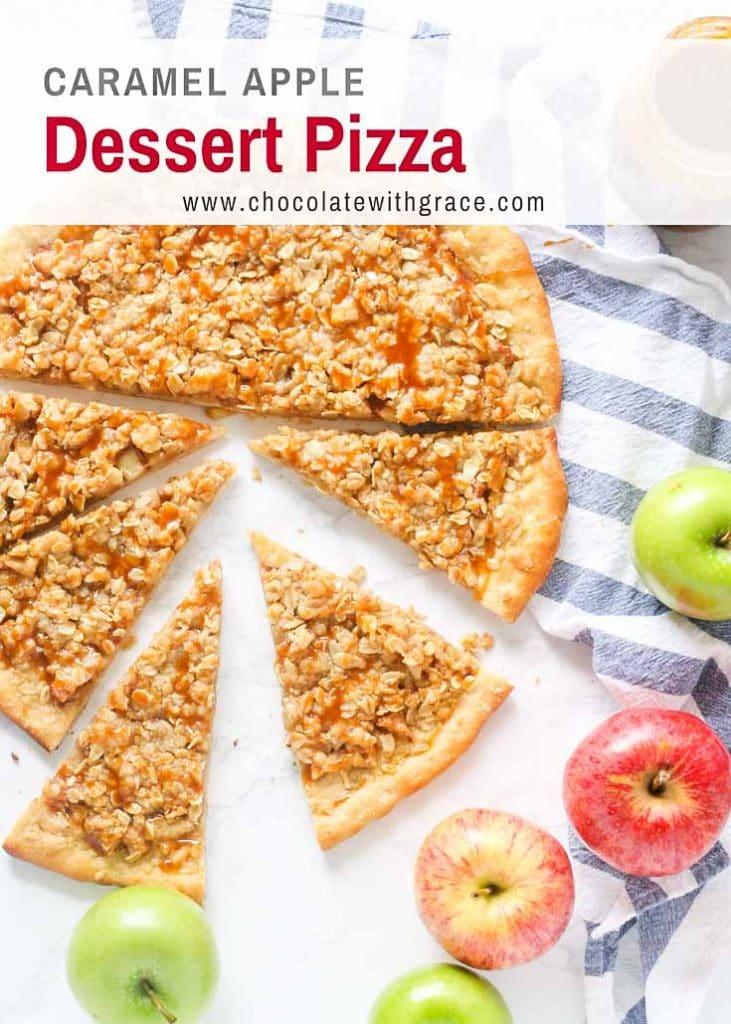 Pizza Hut copycat recipe for Apple Dessert Pizza