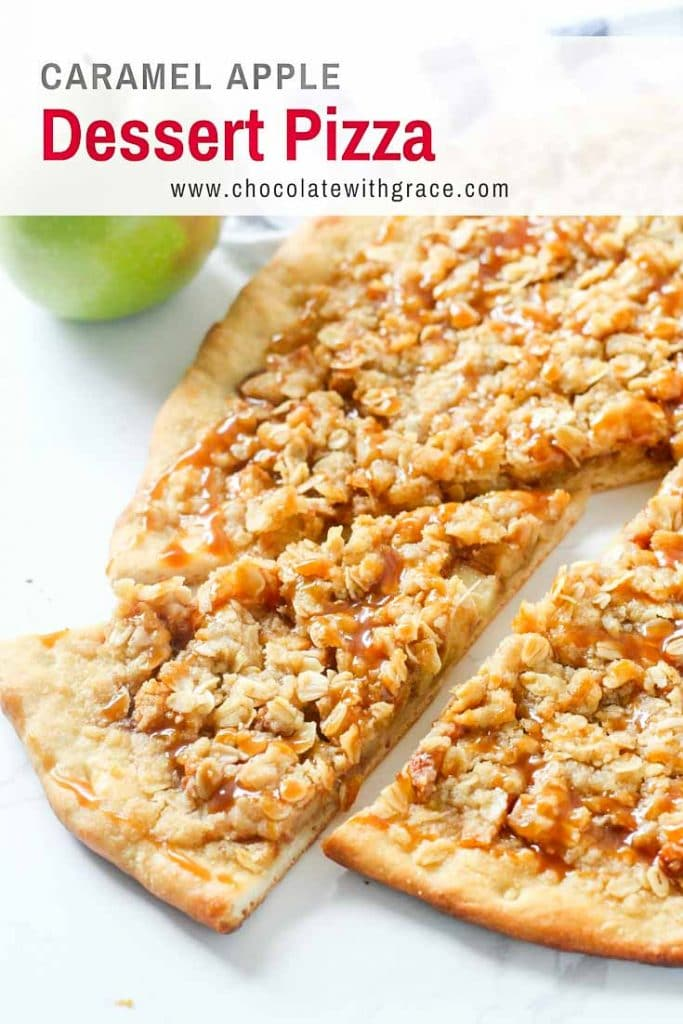 Caramel Apple Dessert Pizza - Pizza Hut Copycat recipe