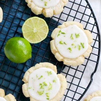Coconut Lime Cookies are a summer favorite.