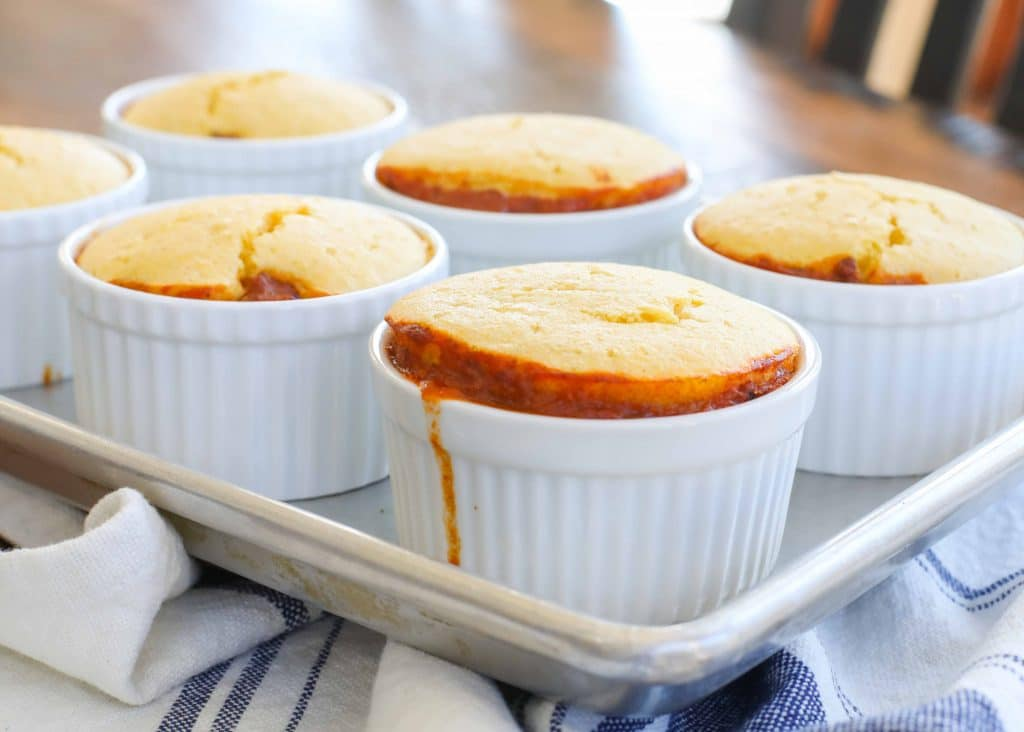 Cornbread Chili Casserole Cups
