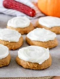 Cream Cheese Pumpkin Cookies