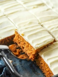 Cream Cheese Frosting for Pumpkin Bars