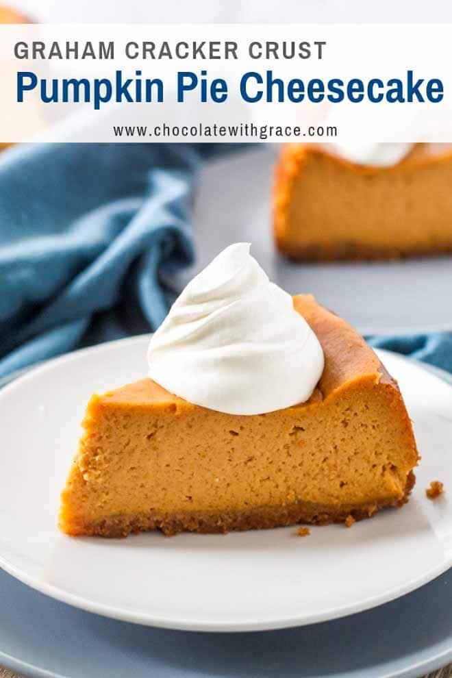 Creamy Pumpkin Pie Cheesecake