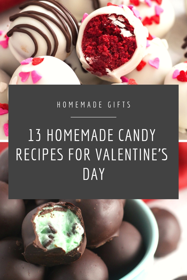 13 Homemade Valentine S Day Candy Ideas Chocolate With Grace
