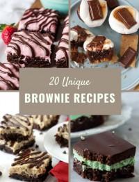 20 unique brownie recipes