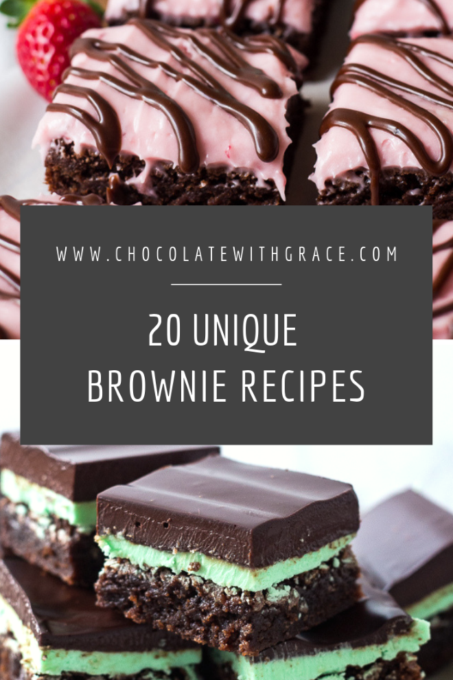 20 unique brownie recipes