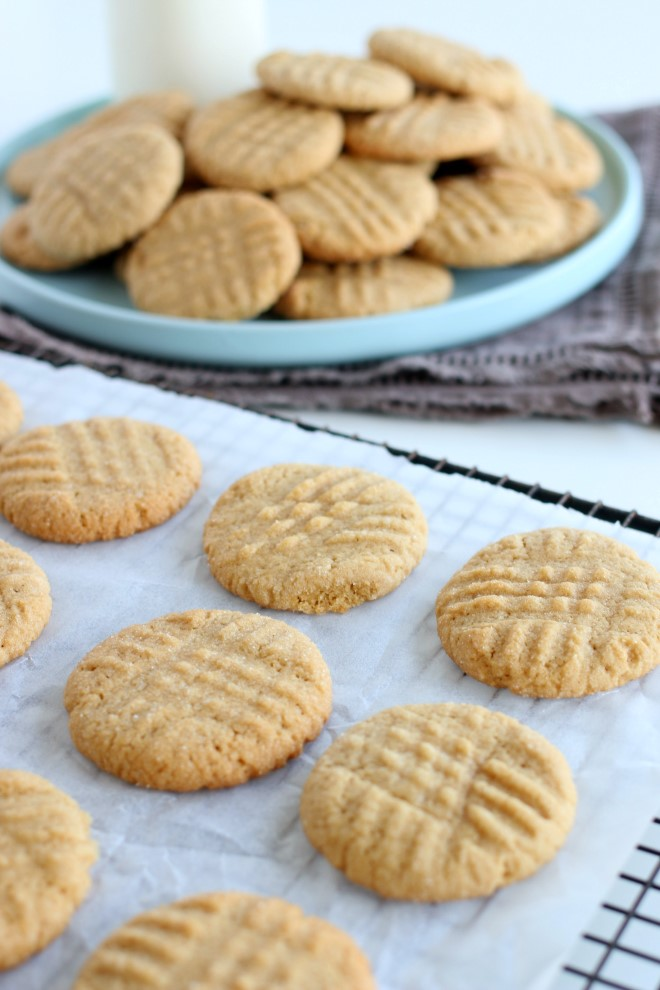 Easy to make Peanut Butter Cookies Recipe
