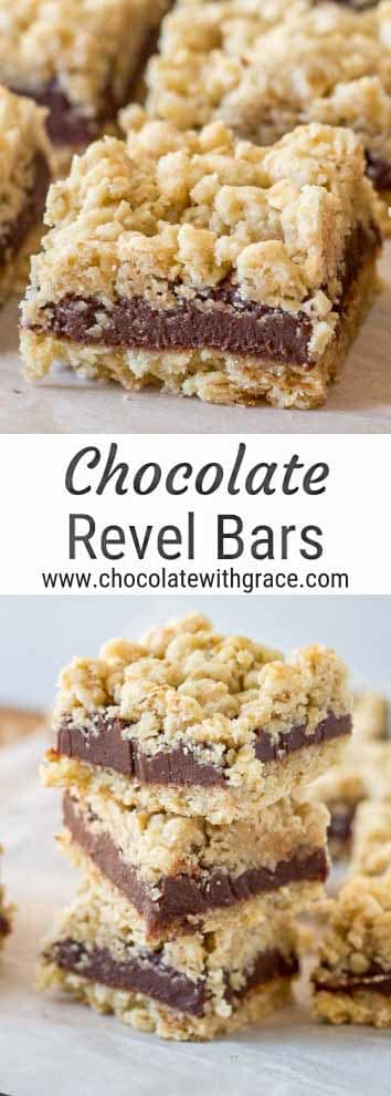 Classic Revel Bars with Chocolate Fudge Filling