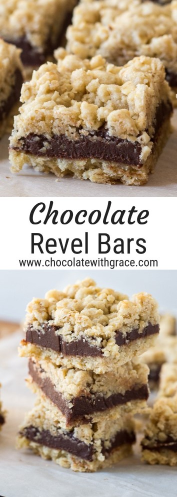 old fashioned chocolate revel bars
