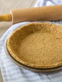 no bake graham cracker pie crust