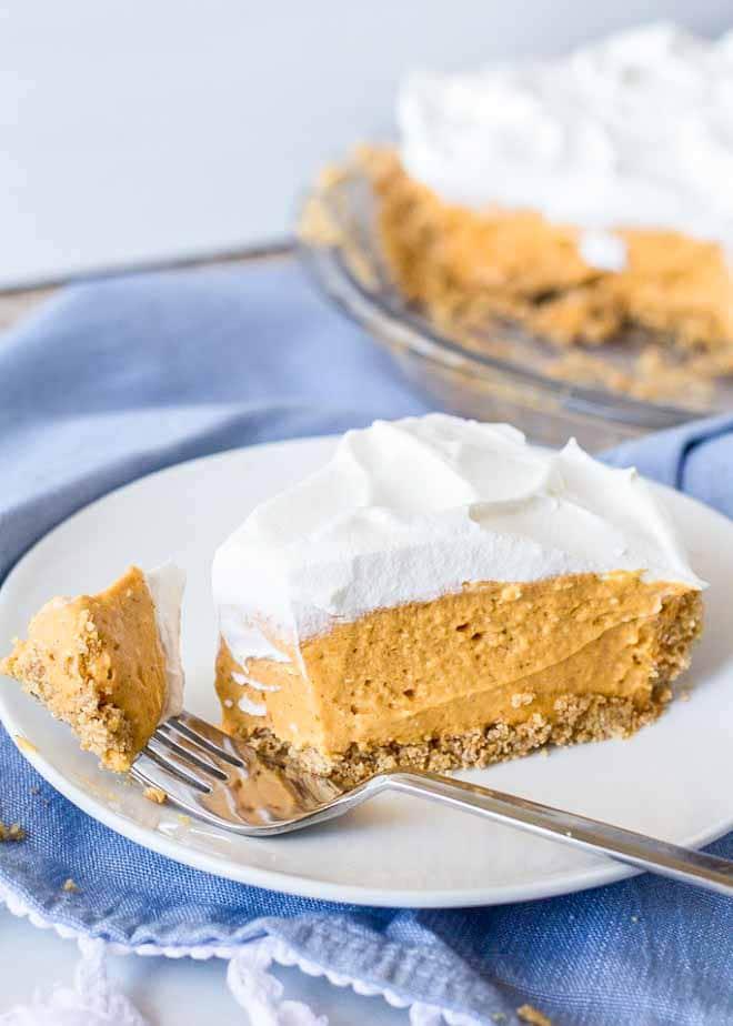 This No Bake Pumpkin Cheesecake is a favorite