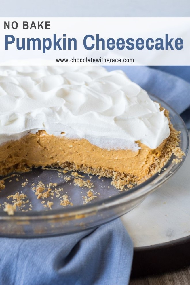no bake pumpkin cheesecake with cool whip