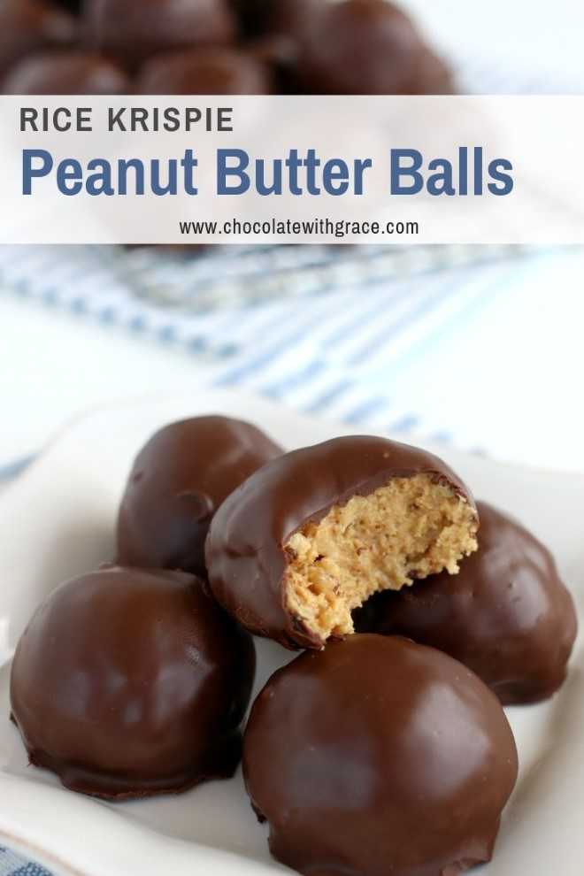 The crunchy, peanut butter center of chocolate peanut butter balls.