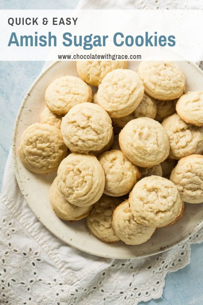 a big pile of amish sugar cookies