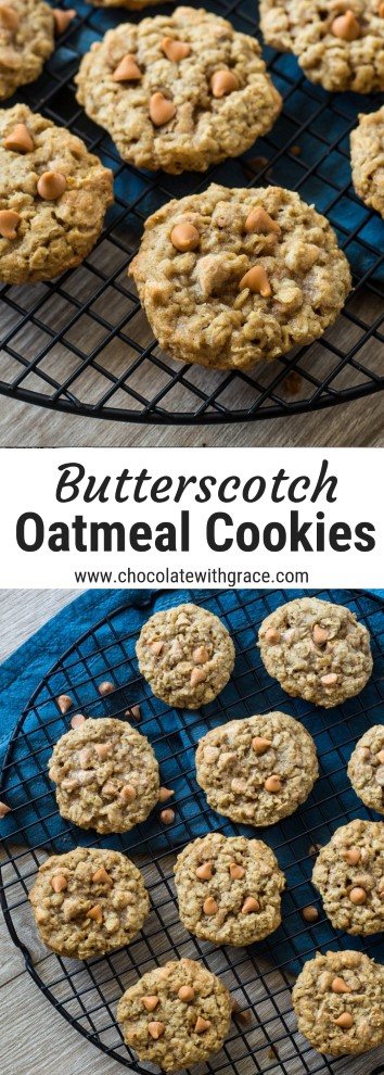 oatmal butterscotch cookies