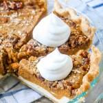 Brown Sugar Streusel Cheesecake Layered Pumpkin Pie
