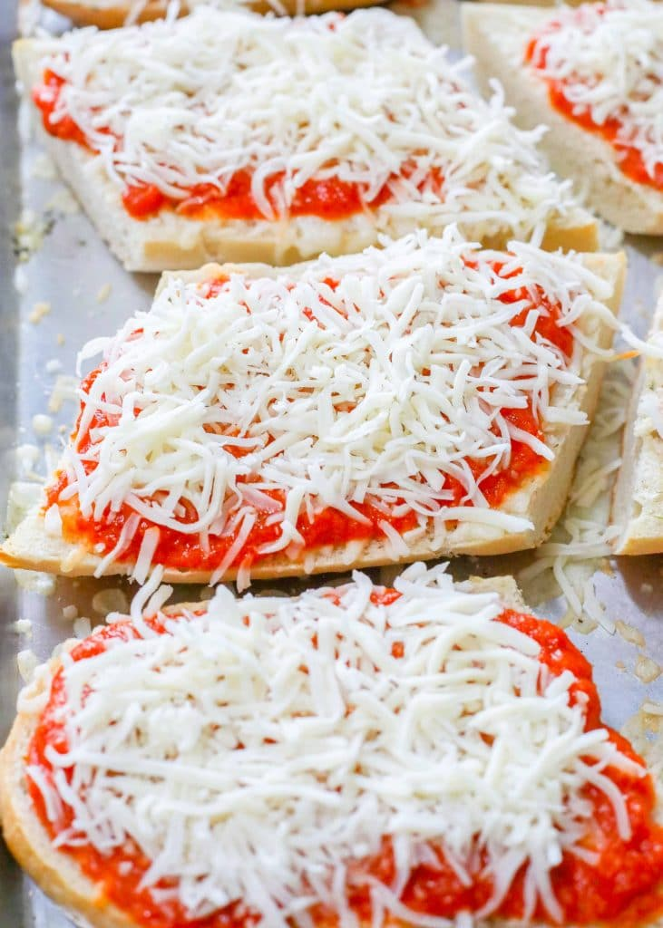 Learn how to make French Bread Pizza