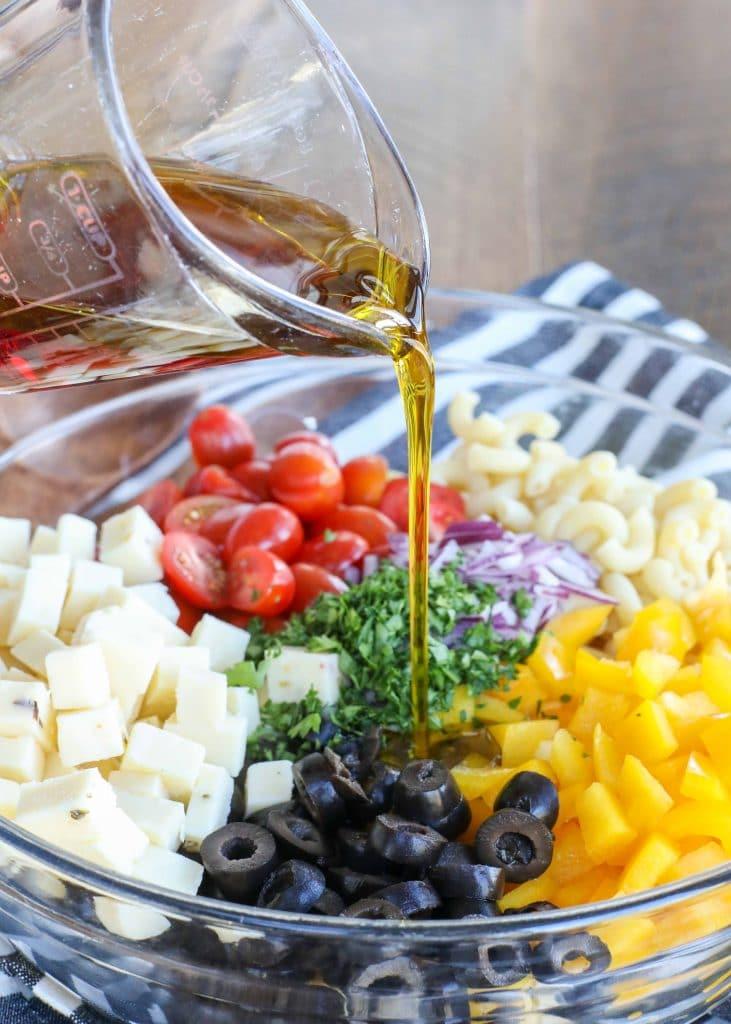 Potluck Pasta Salad is a classic favorite