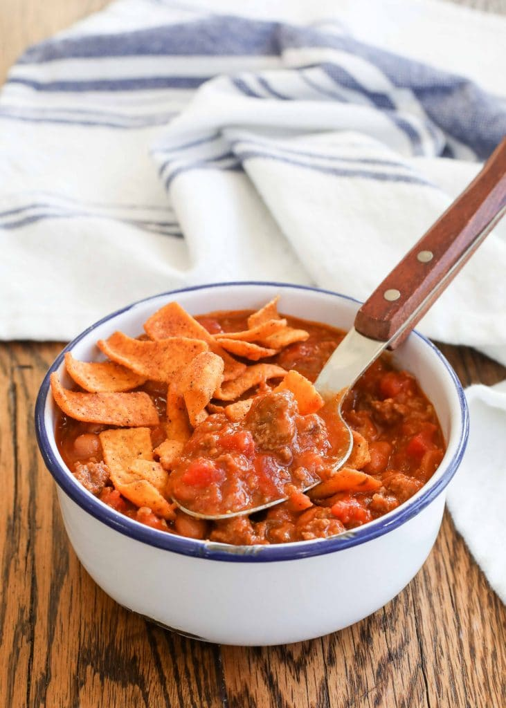 Quick Chili in just 15 minutes