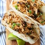 Salsa Chicken for burritos or tacos