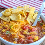 Classic Taco Soup is an easy dinner favorite