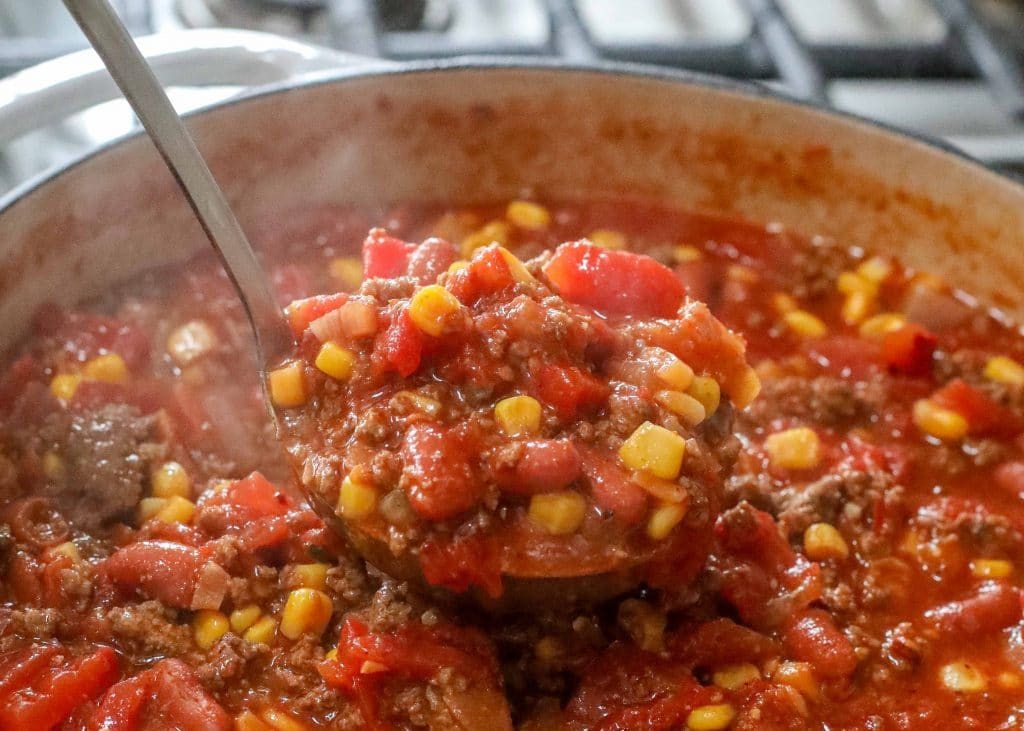 Classic Taco Soup - in less than 20 minutes!
