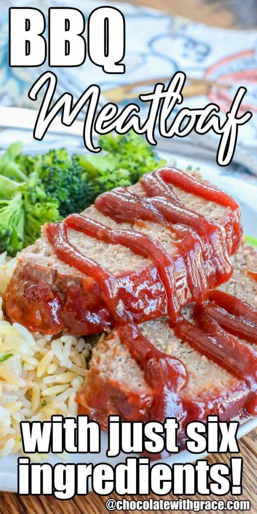 Make this BBQ Meatloaf with just six easy ingredients!