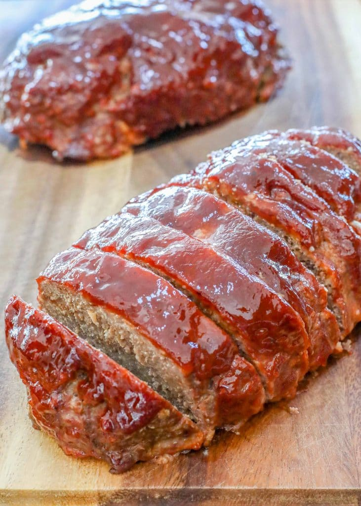 Easy BBQ Meatloaf with just six ingredients