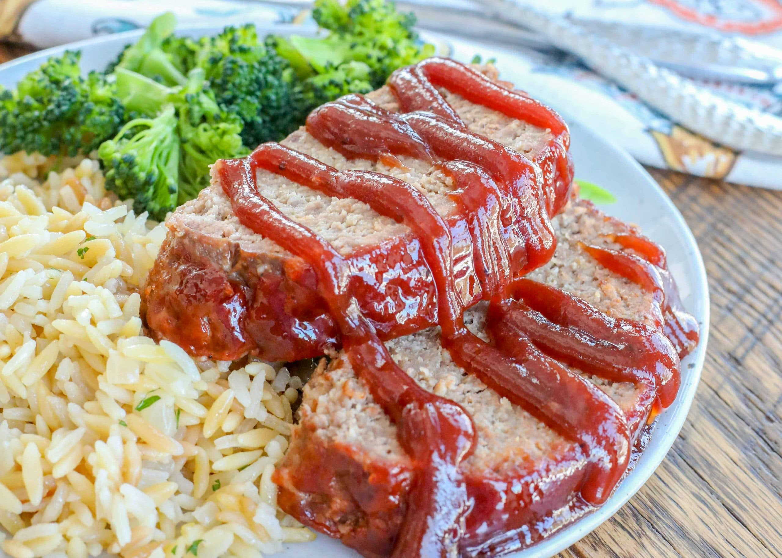 Bbq Meatloaf Chocolate With Grace