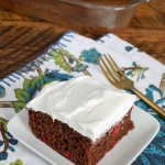 Easy Black Forest Cake made with just 4 ingredients!
