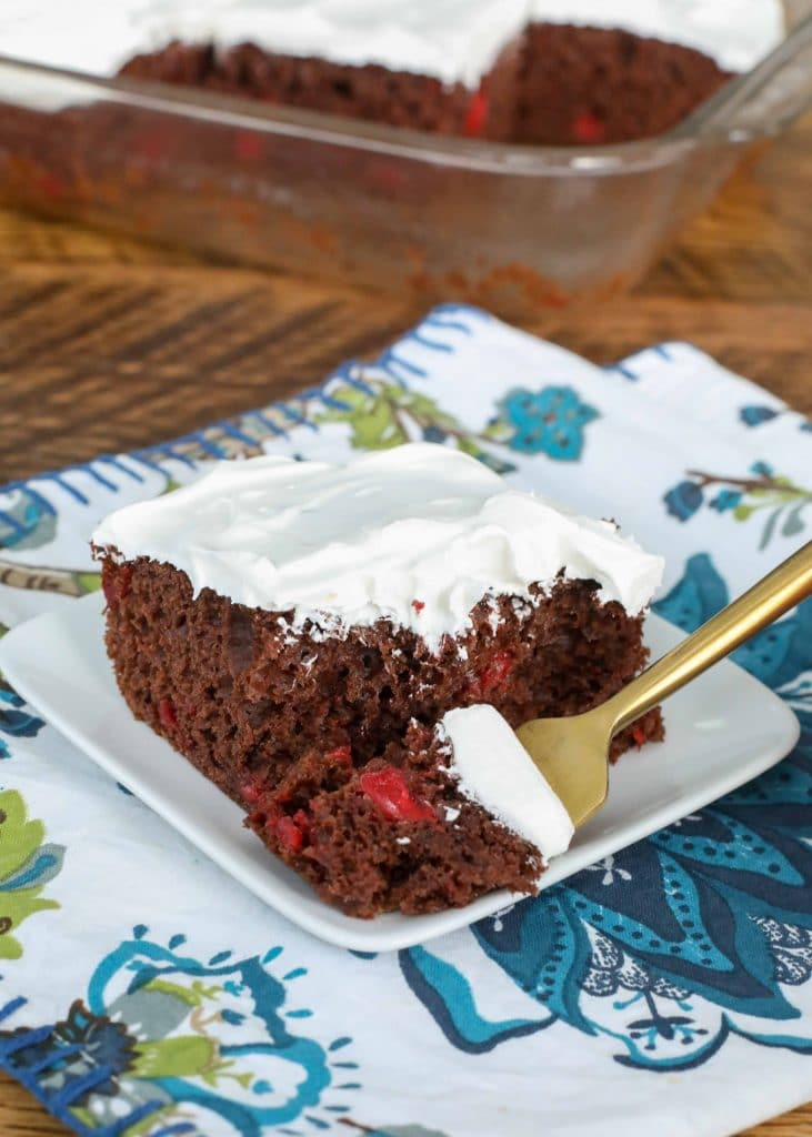 Black Forest Cake - made with a cake mix!
